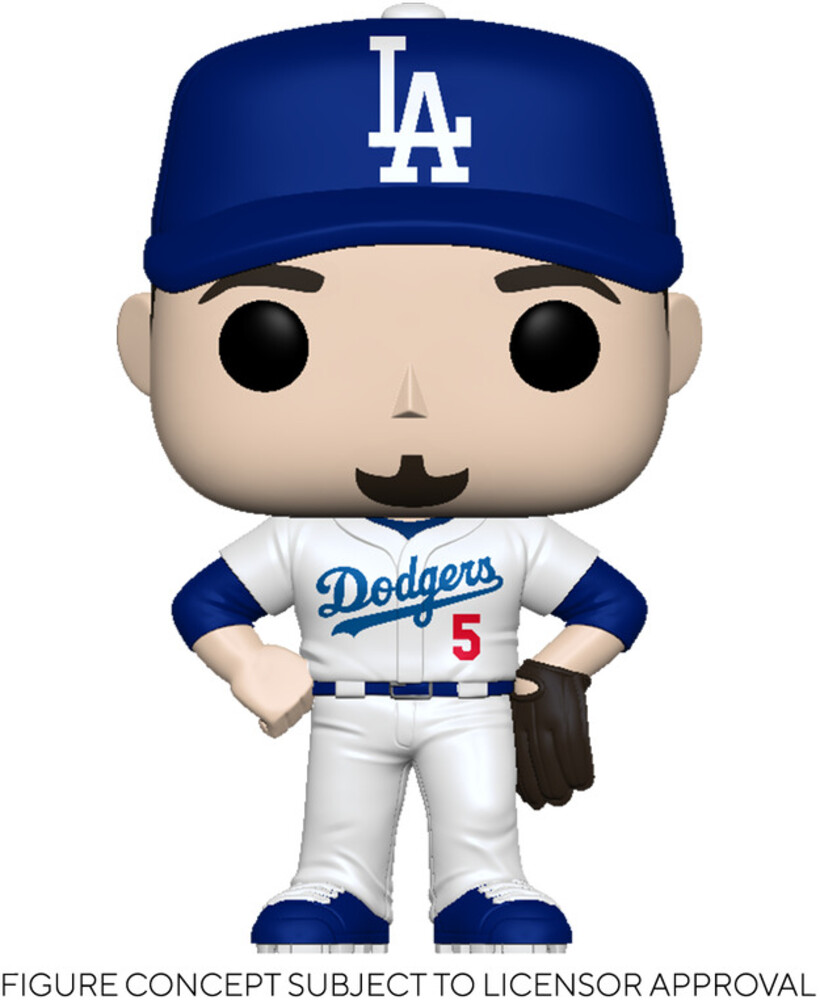 Funko Pop! MLB: - FUNKO POP! MLB: Dodgers- Corey Seager (Home Uniform)