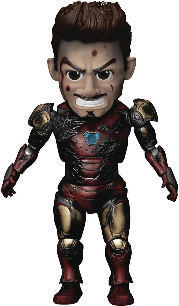 Beast Kingdom - Beast Kingdom - Avengers Endgame EAA-138 Iron Man MK85 Action FigureBattle Damage Version