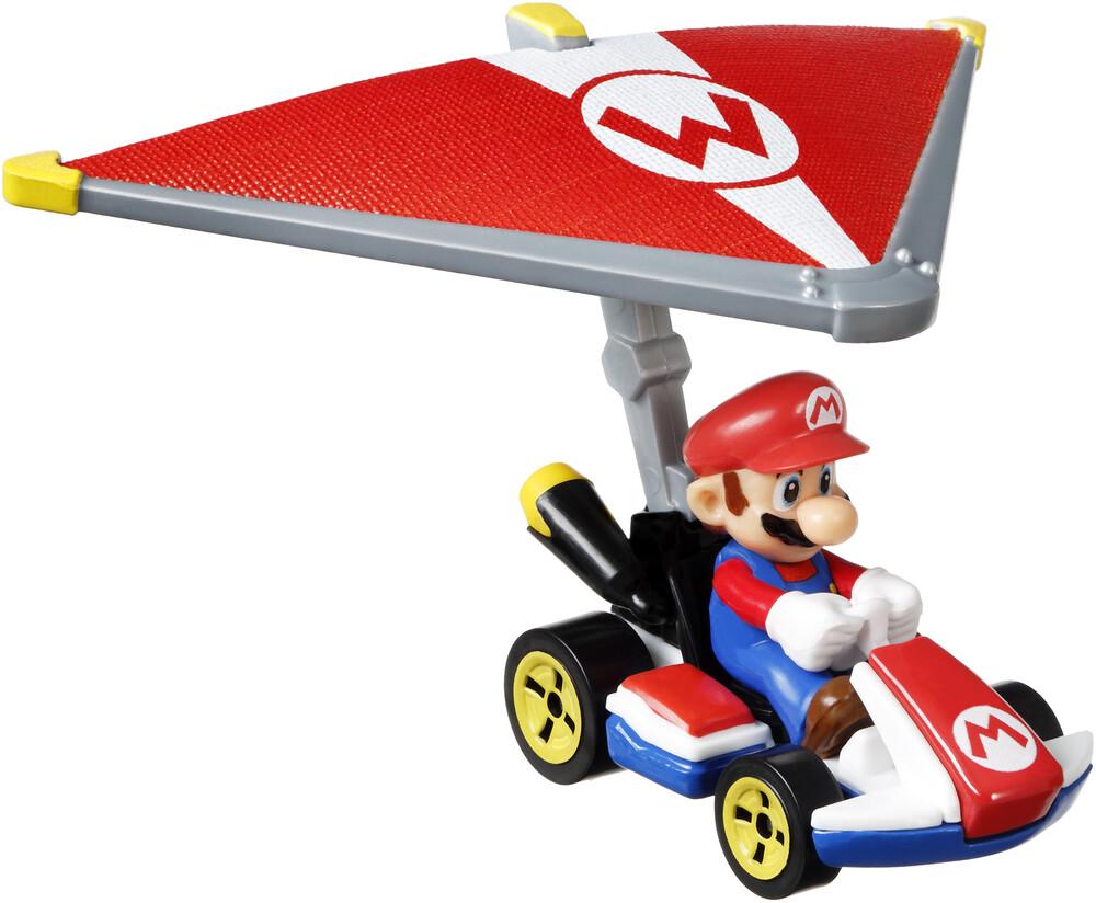Hot Wheels Mario Kart - Mattel - Hot Wheels Mario Kart Glider Assortment (Nintendo)