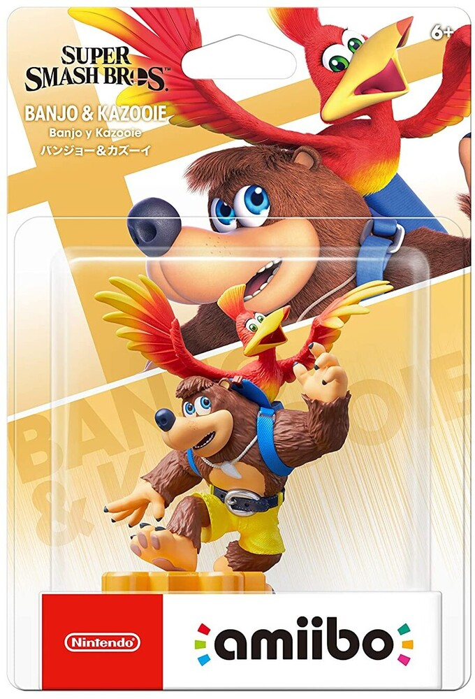 Amiibo - Banjo & Kazooie - Super Smash Bros - amiibo - Banjo & Kazooie - Super Smash Bros. Series