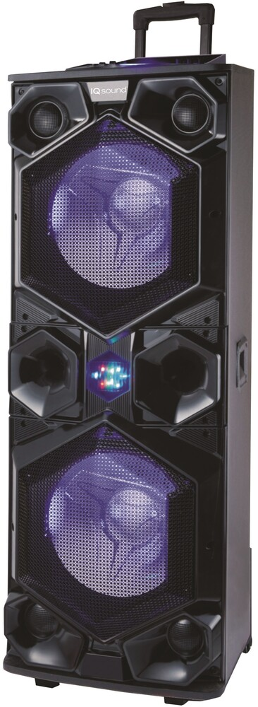 Supersonic Iq6315Djbt Bt 2X15in DJ Spkr 40W Blk - Supersonic Iq6315djbt Bt 2x15in Dj Spkr 40w Blk