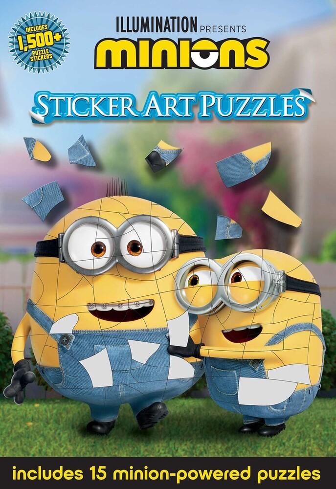 Arie Kaplan - Minions: Sticker Art Puzzles