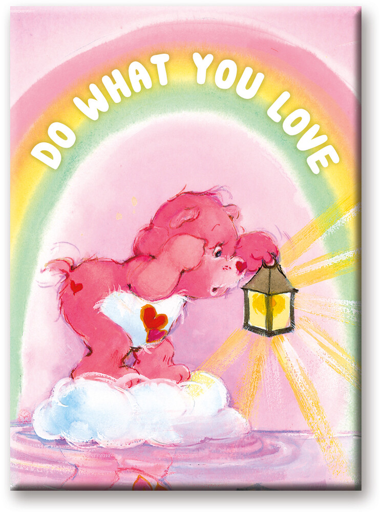 Care Bears Love 2.5 X 3.5 Flat Magnet - Care Bears Love 2.5 x 3.5 Flat Magnet