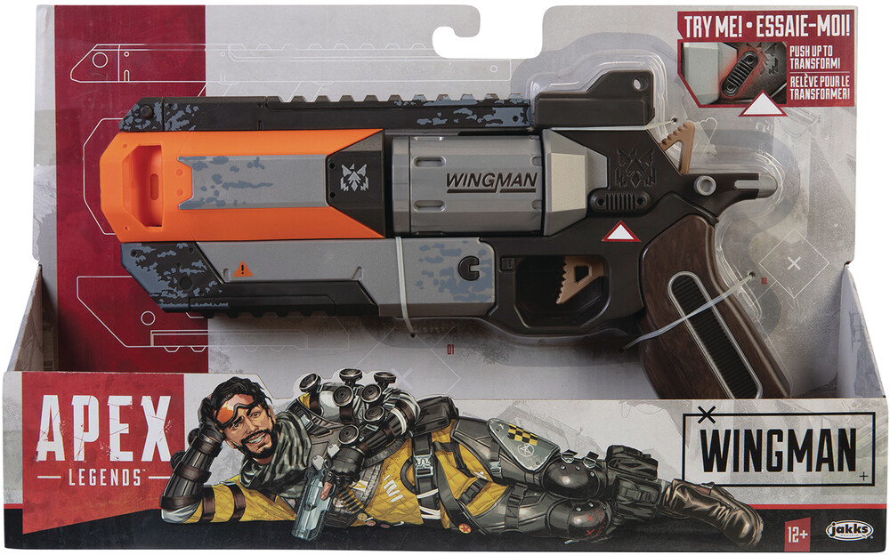 Jakks Pacific - JAKKS Pacific - Apex Legends Wingman Pistol CS (Net)