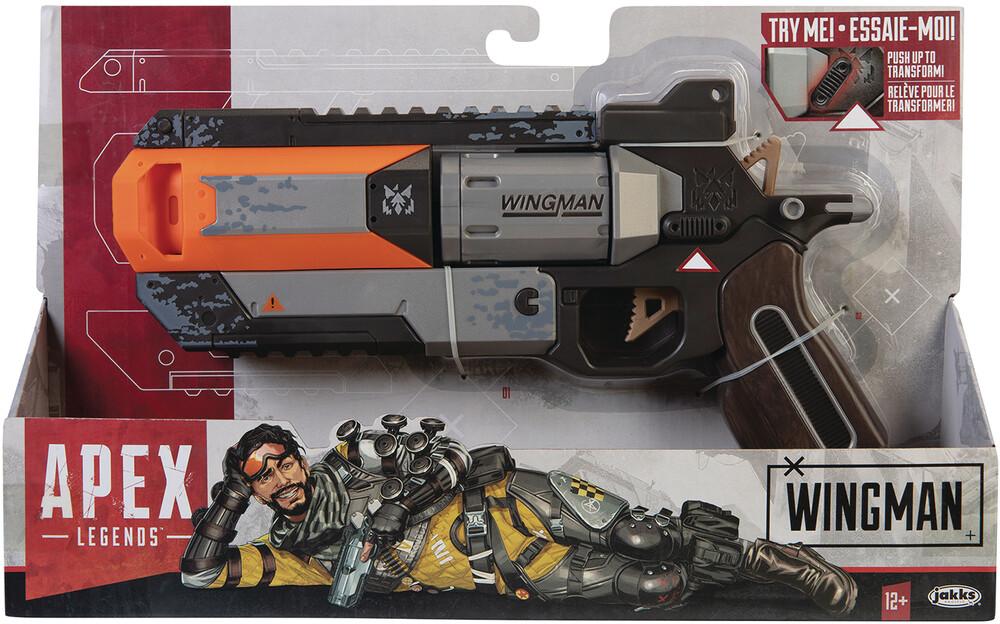 Jakks Pacific - JAKKS Pacific - Apex Legends Wingman Pistol CS (Net)