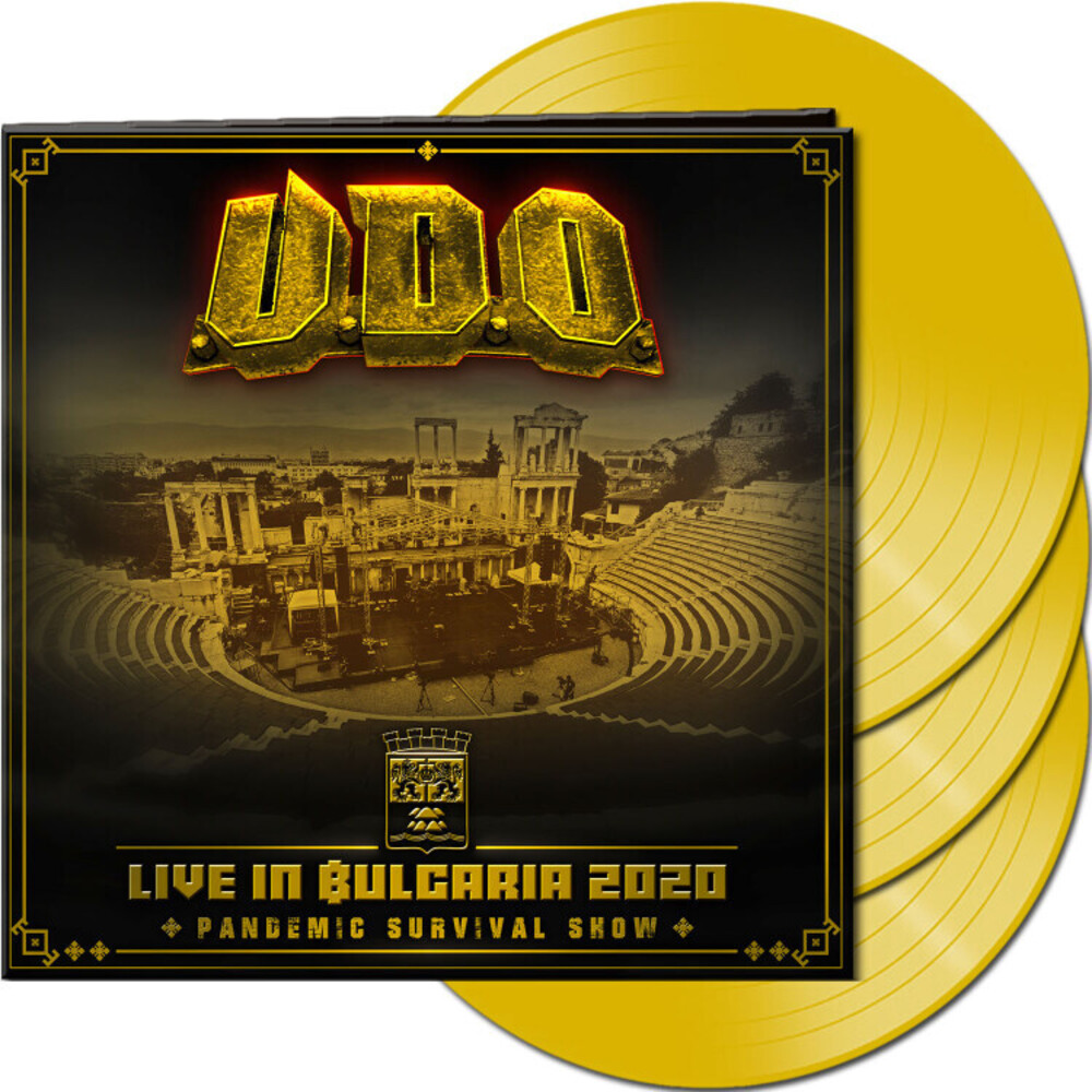 U.D.O. - Live In Bulgaria 2020 - Pandemic Survival [Indie Exclusive]