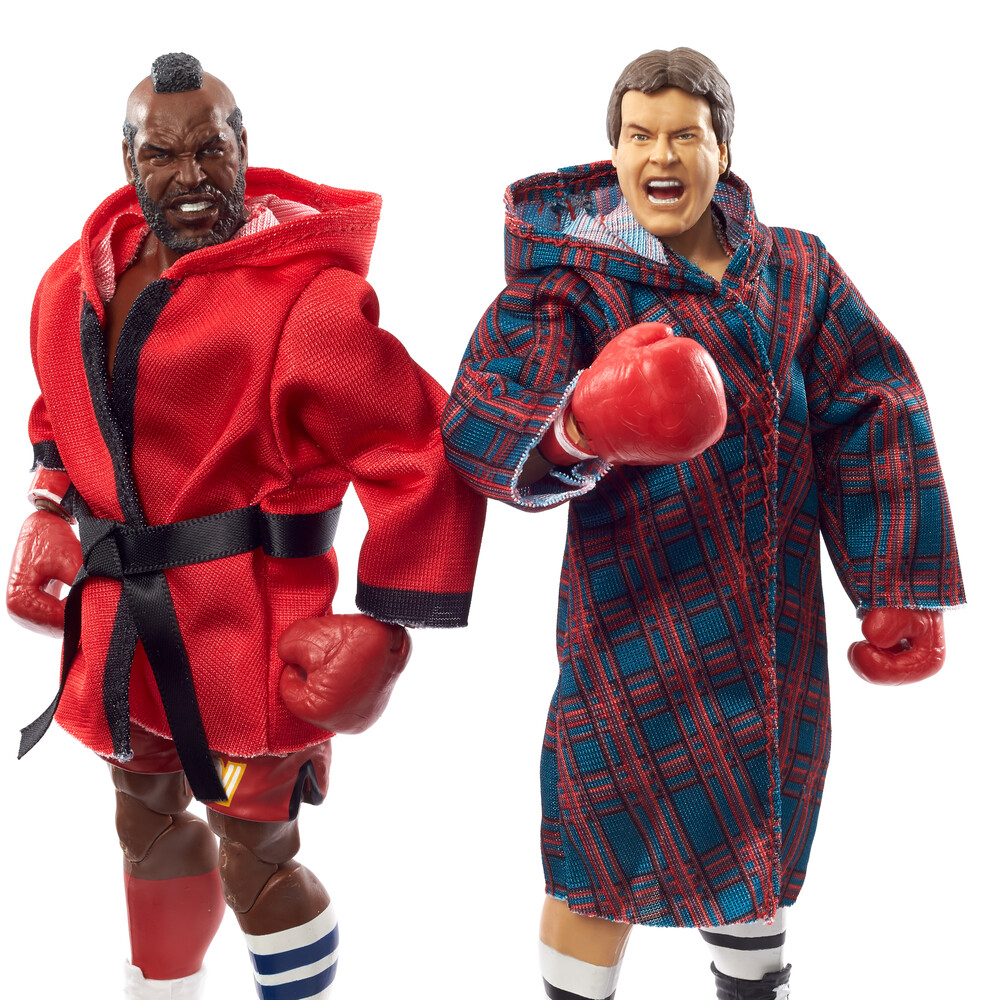 WWE - Mattel Collectible - WWE Elite Mr. T And Rowdy Roddy Piper