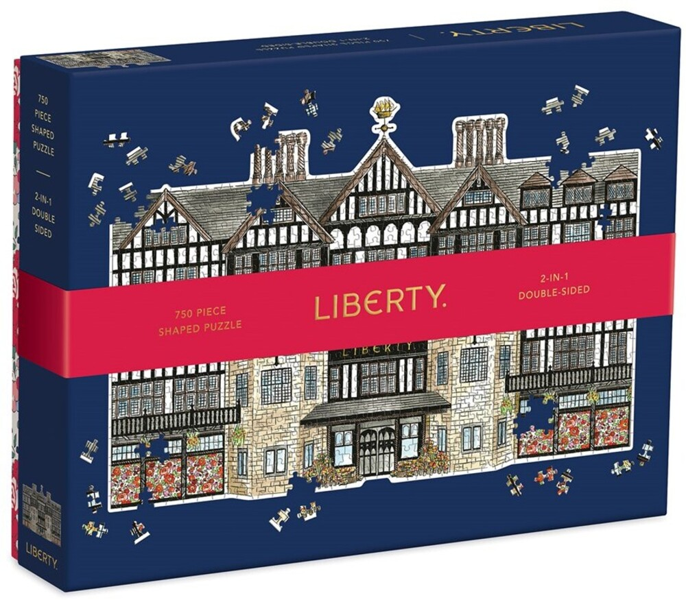 - Liberty London Tudor Building 750 Piece Shaped Puzzle