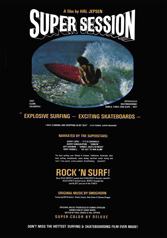 - Super Session: Rock N Surf