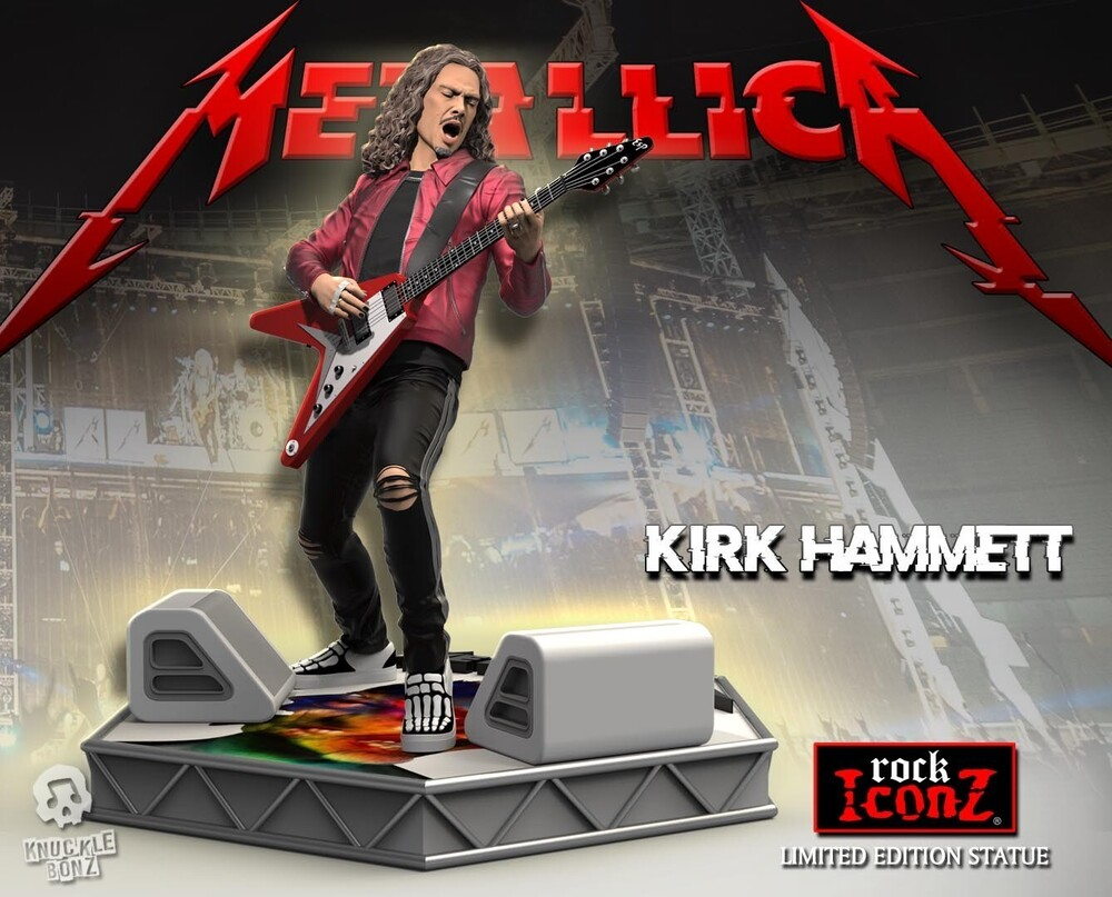 - Knucklebonz - Metallica - Kirk Hammett (Metallica) Rock Iconz