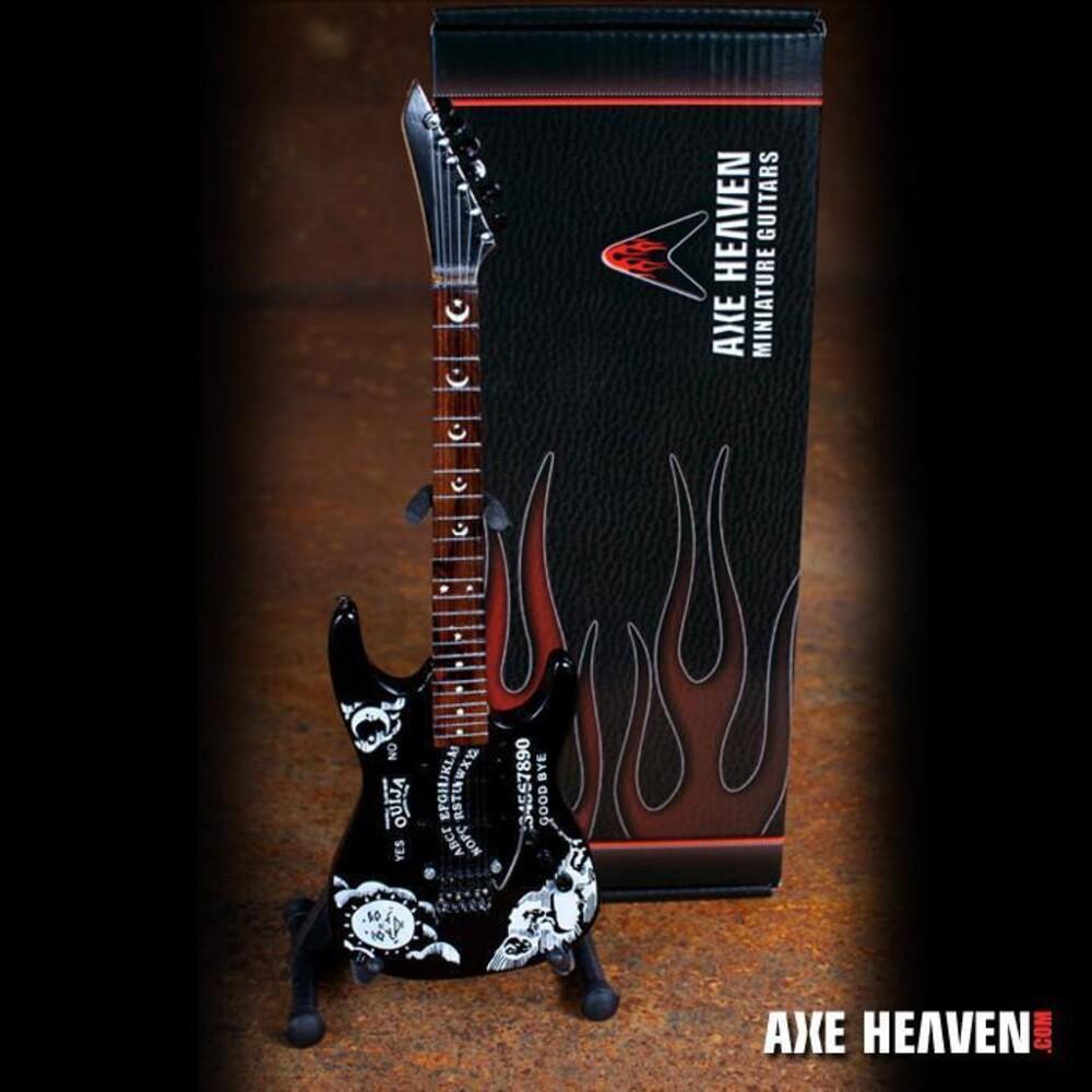 - Kirk Hammett Signature Ouija Mini Guitar (Clcb)