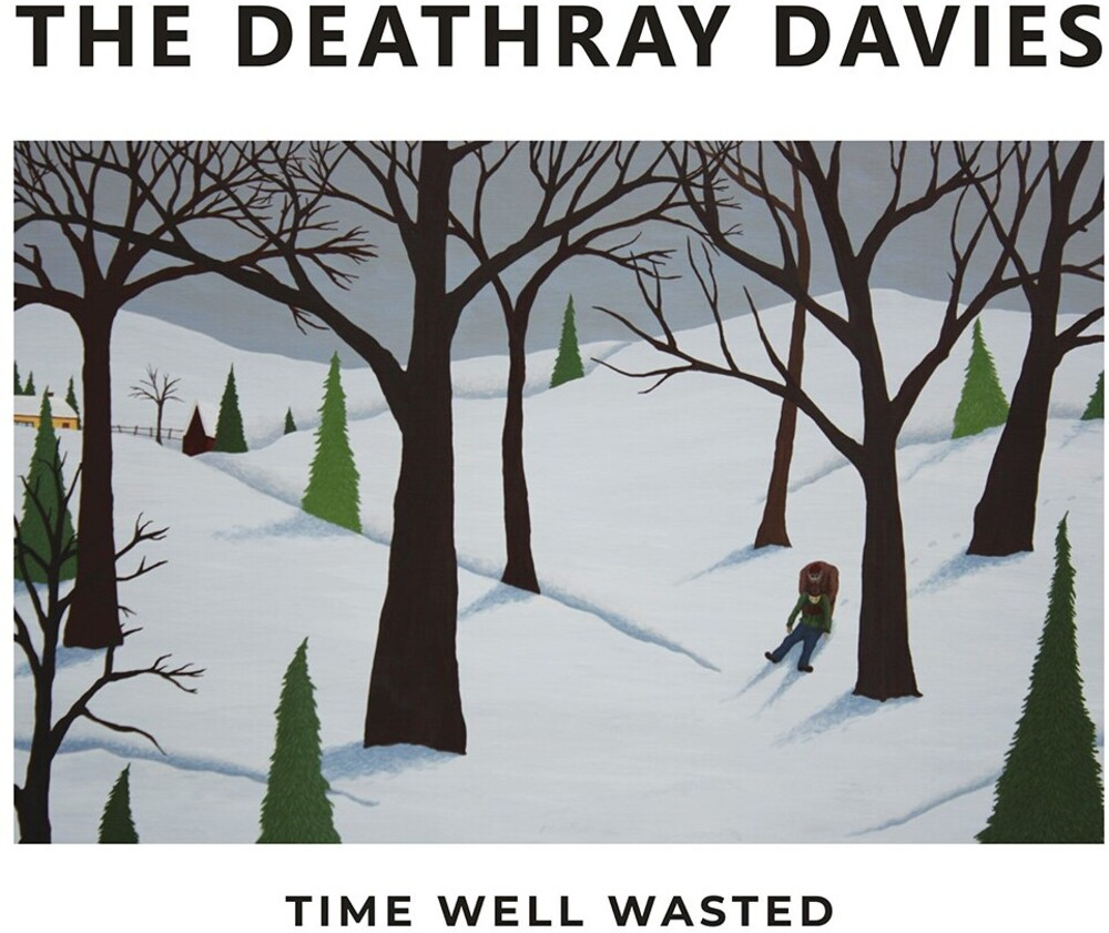 Deathray Davies - Time Well Wasted [180 Gram]