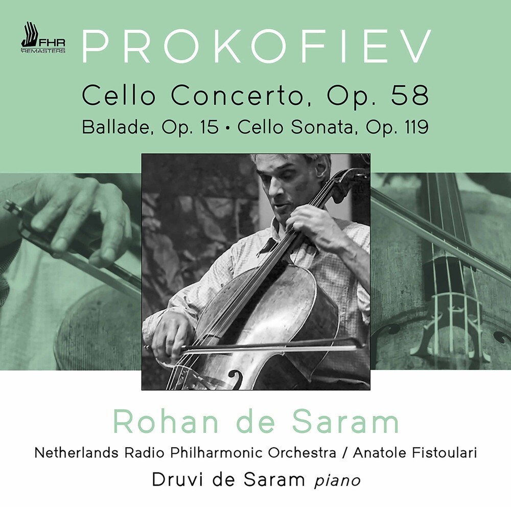 Prokofiev / Saram / Fistoulari - Cello Works
