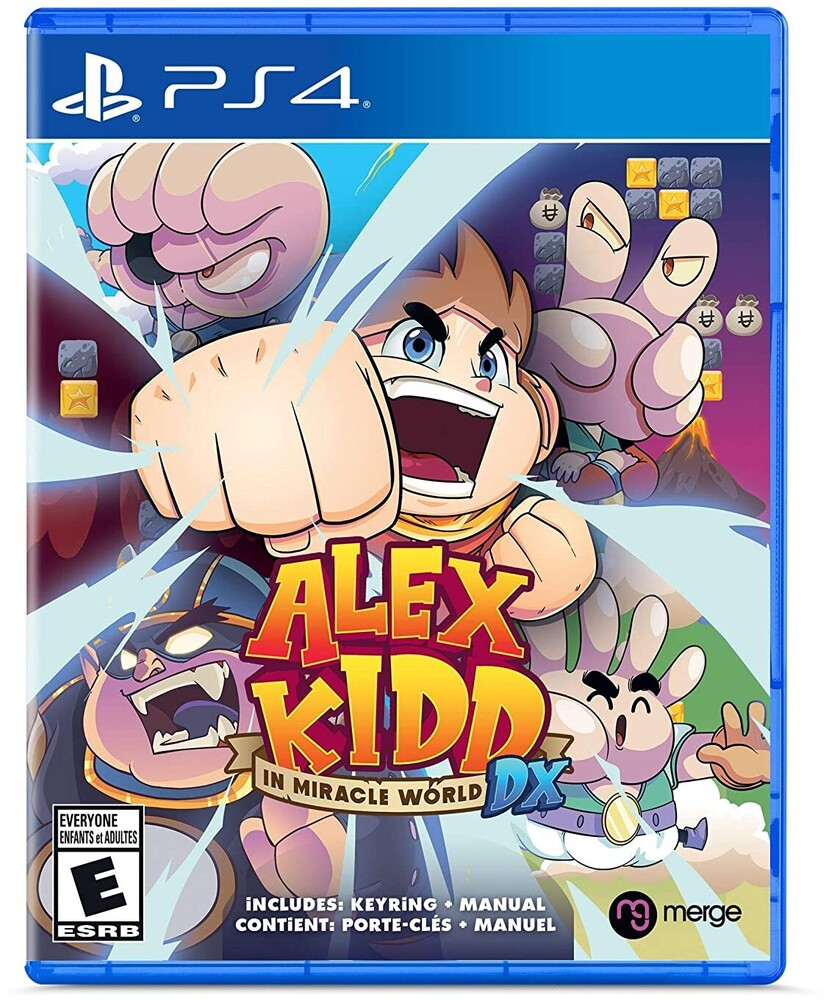 - Ps4 Alex Kidd In Miracle World Dx