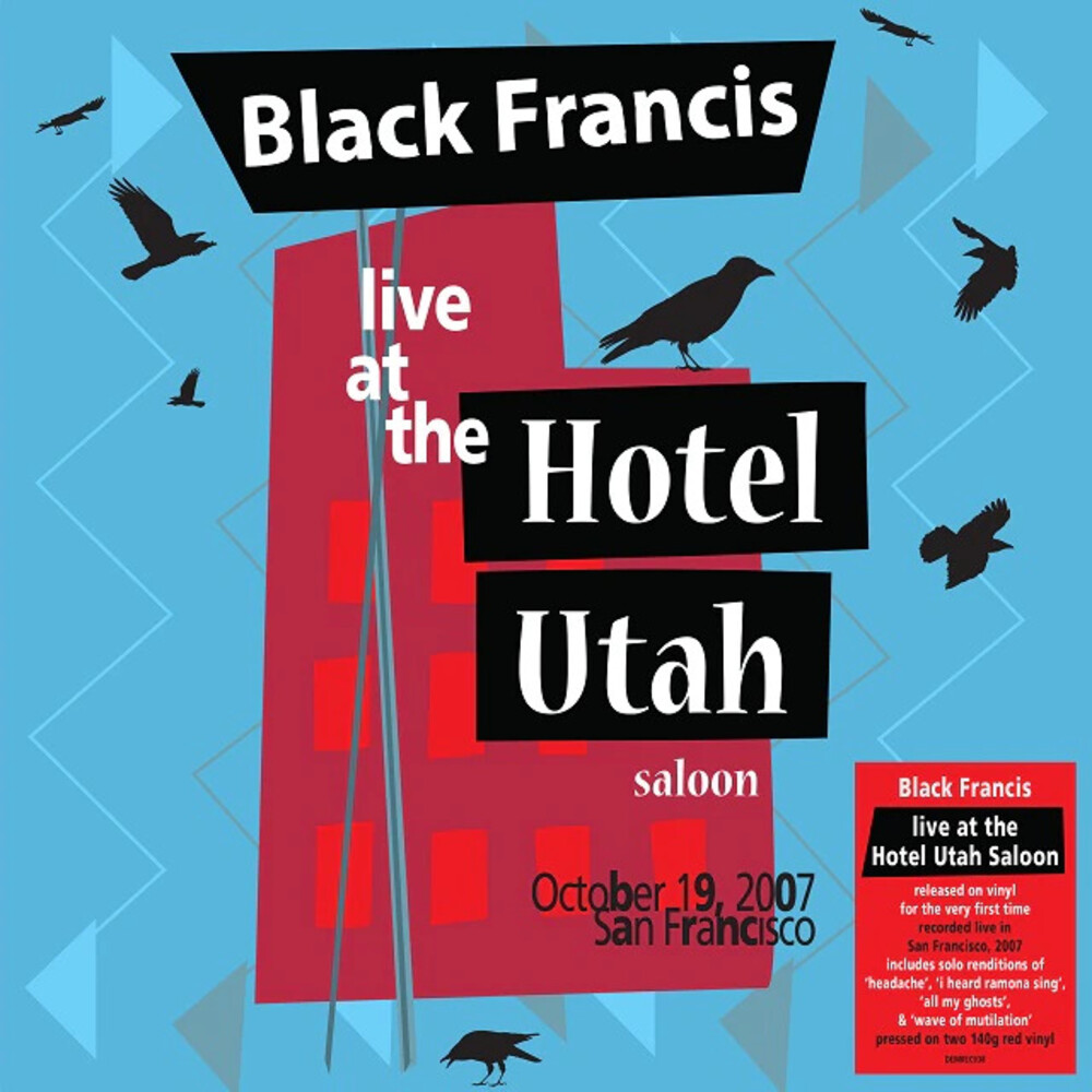 Black Francis - Live At The Hotel Utah Saloon (Ofgv) (Red) (Uk)