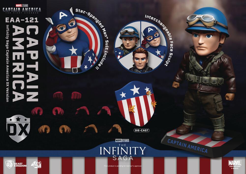 - Marvel Infinity Saga Eaa-121 Captain America Af