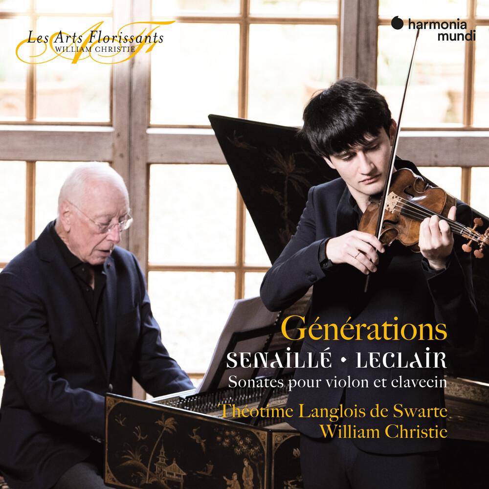 Theotime Langlois De Swarte / William Christie - Generations