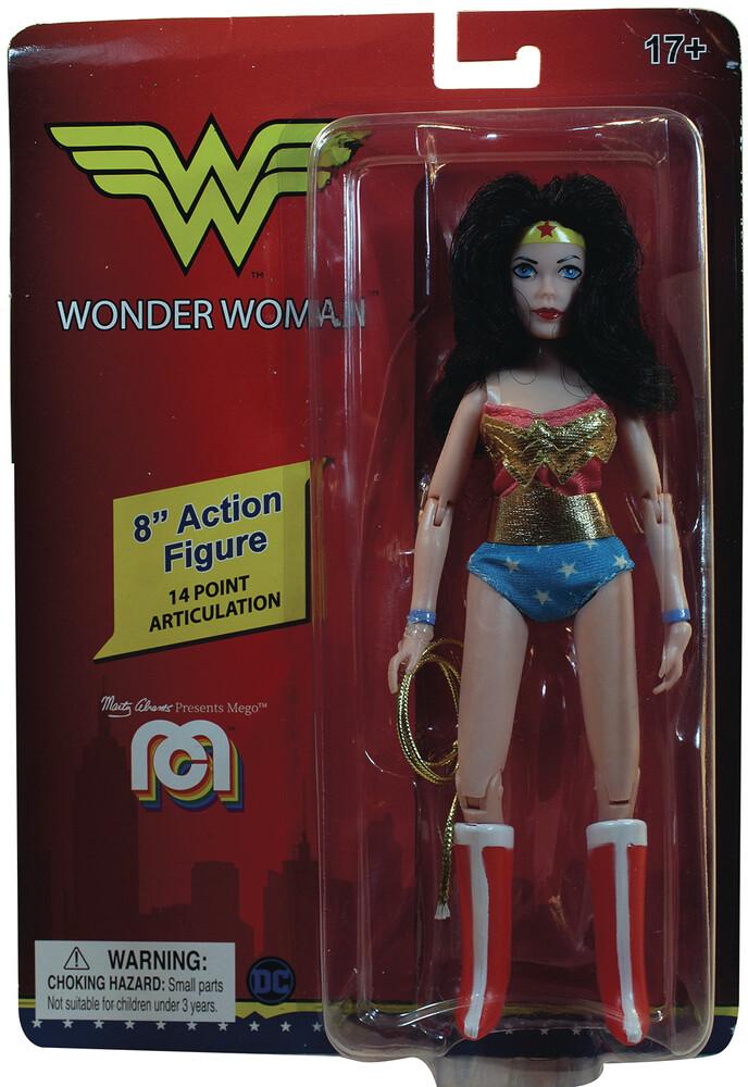 - Mego Dc Comics Wonder Woman 8in Af (Afig) (Clcb)
