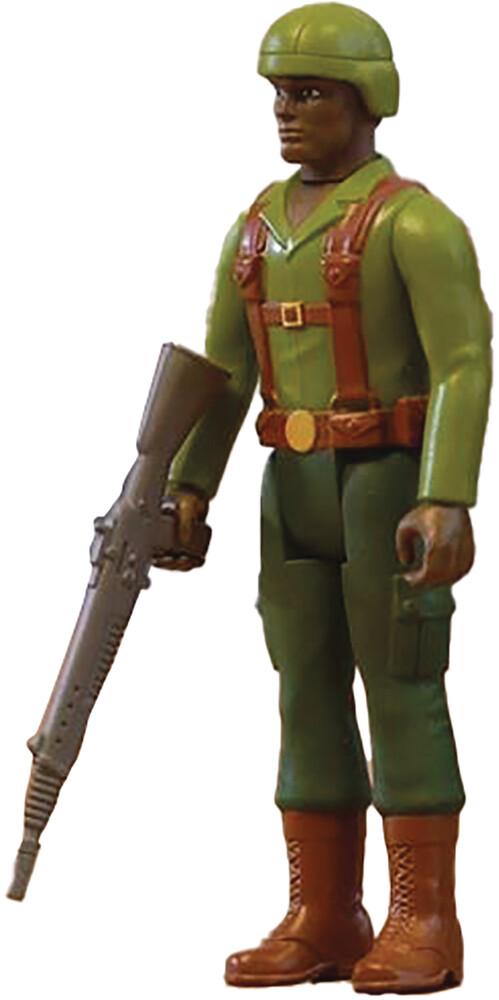 G.I. Joe Reaction - Greenshirt (Dark Brown) - G.I. Joe Reaction - Greenshirt (Dark Brown) (Afig)