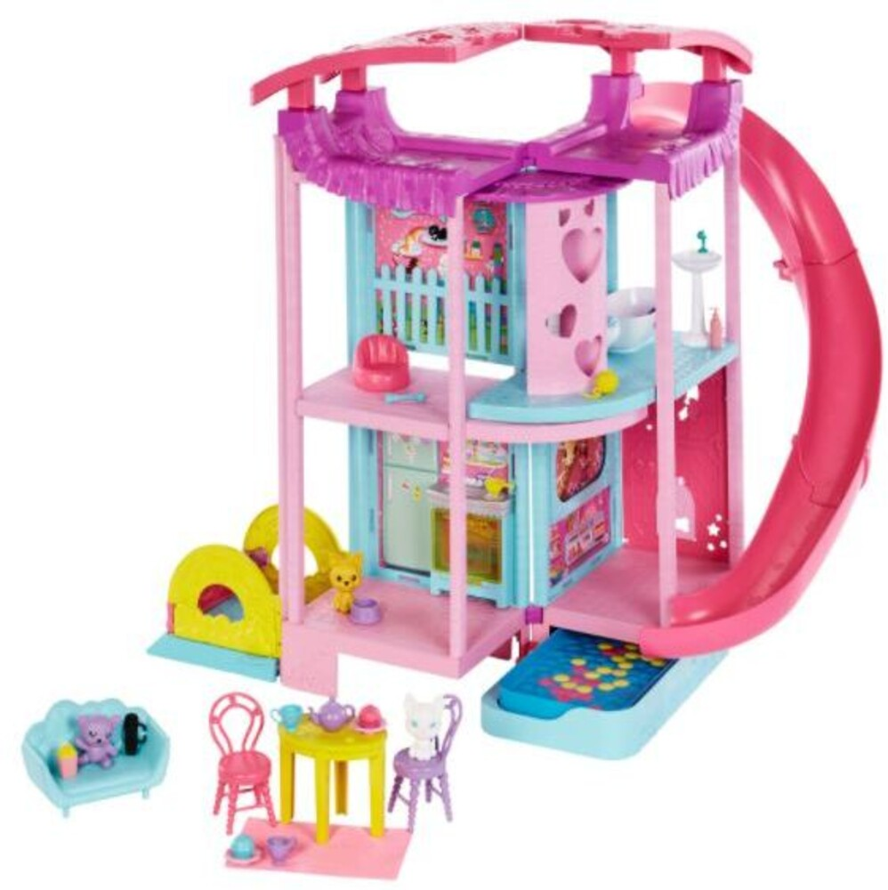 Barbie - Barbie Family Chelsea Playhouse (Papd)