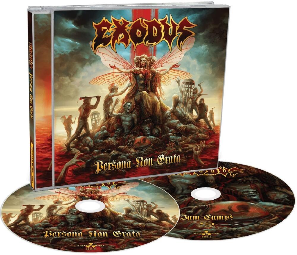 Exodus - Persona Non Grata (Cd + Blu-Ray) (Wbr)