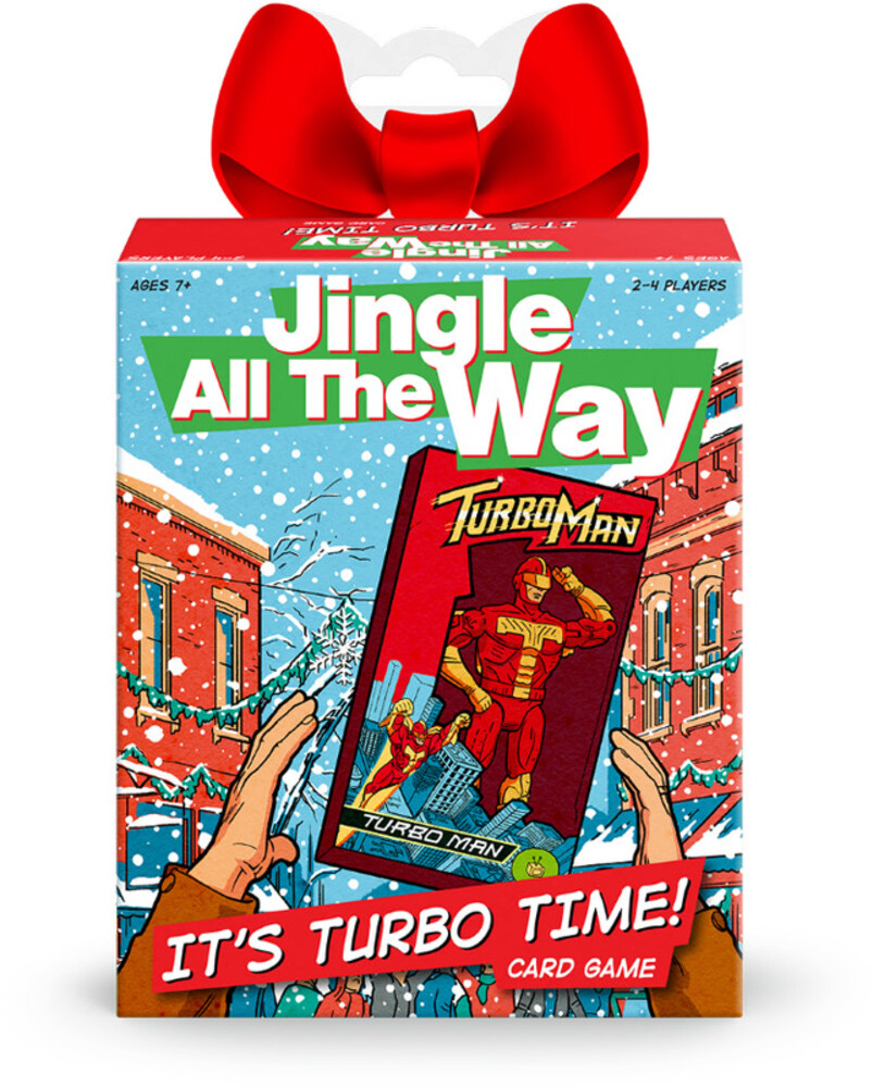 Funko Signature Games: - Disney - Jingle All The Way -It's Turbo Time! Game