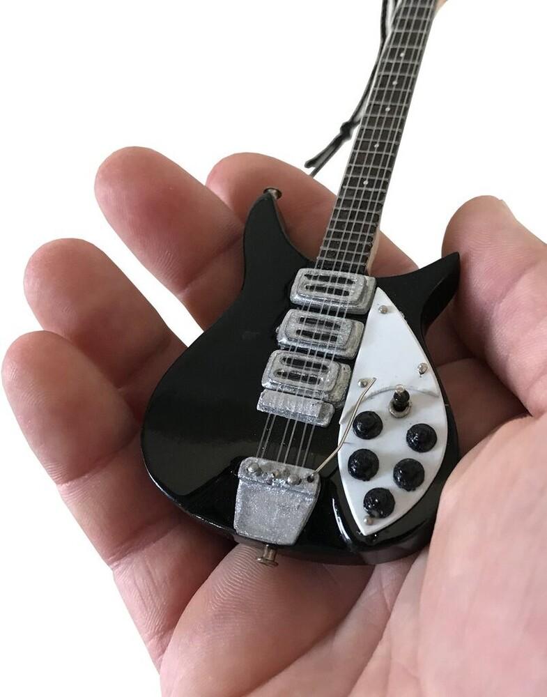 John Lennon Beatles Rick 325 6 in Guitar Ornament - John Lennon Beatles Rick 325 6 In Guitar Ornament