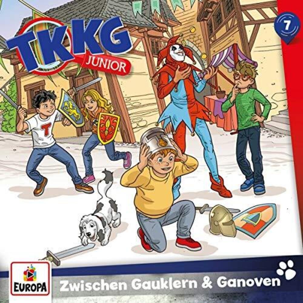 TKKG Junior - 007/Zwischen Gauklern Und Ganoven (Ger)