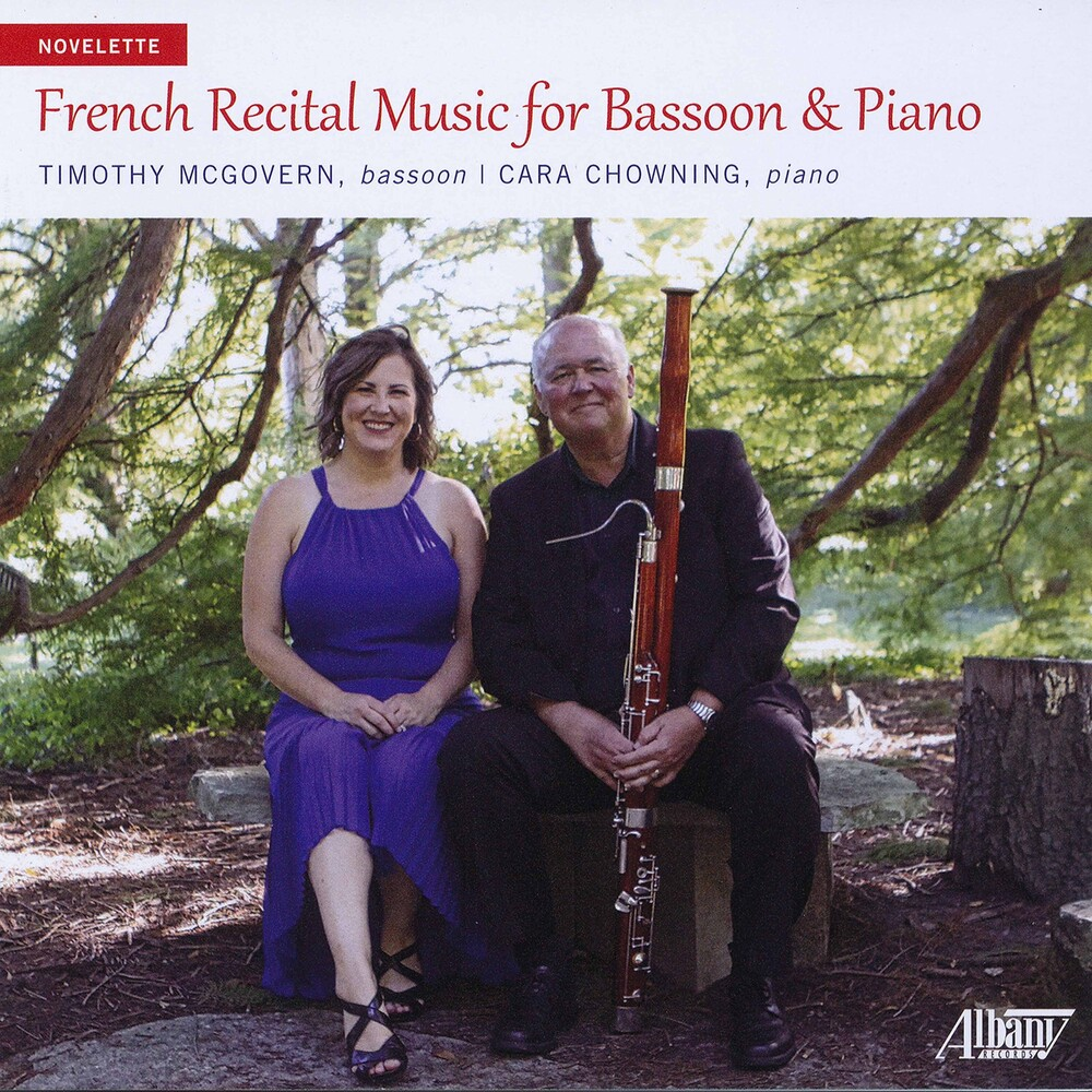 Timothy McGovern - French Recital Music For Bassoon & Piano
