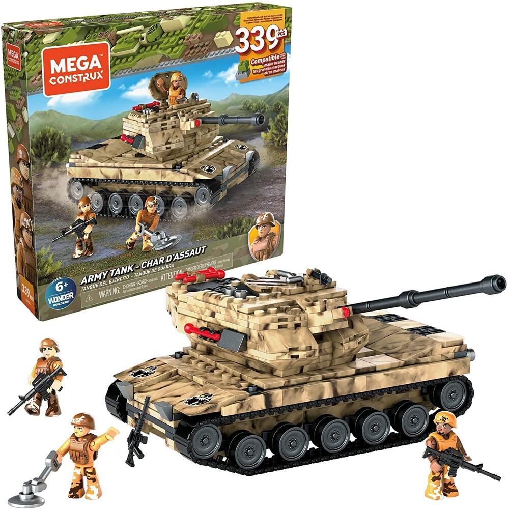 Mega Bloks - MEGA Brands - MEGA Bloks Playsets Army Tank