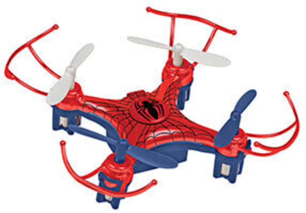 Rc Drone - 2.4Ghz 4.5ch Spider Man Micro Drone Remote Control Quadcopter (Marvel, Spider-Man)
