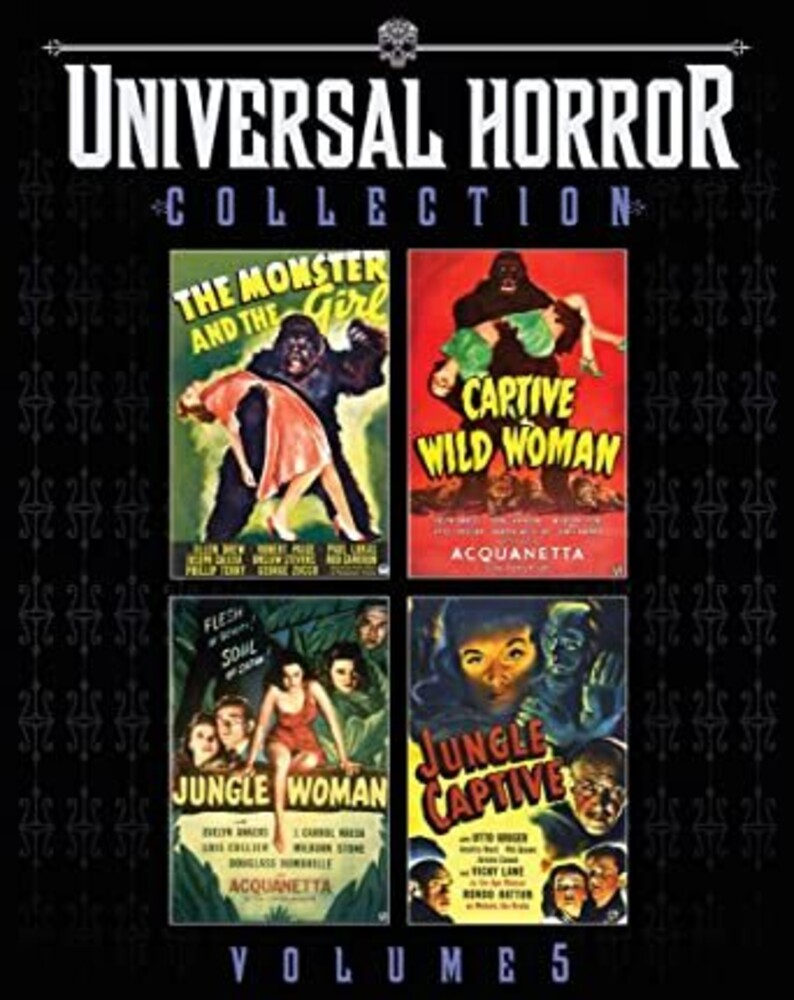 - Universal Horror Collection 5 (4pc) / (Dts Mono)