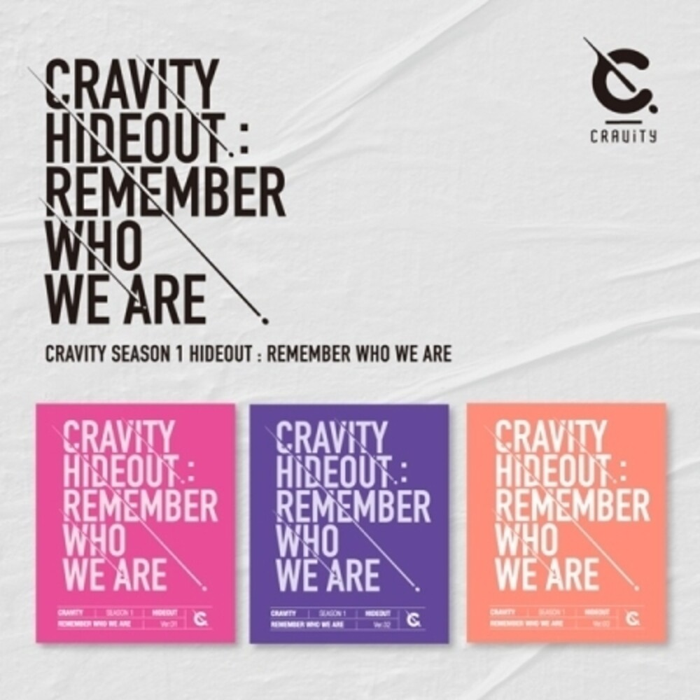 Cravity - Cravity Hideout: Remember Who We Are (Random Cover) (incl. Photobook, Photocard, 4-Cut Photocard + Sticker)