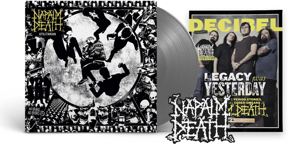 Napalm Death - Utilitarian (Decibel Edition) [Indie Exclusive Limited Edition Black Ice LP]