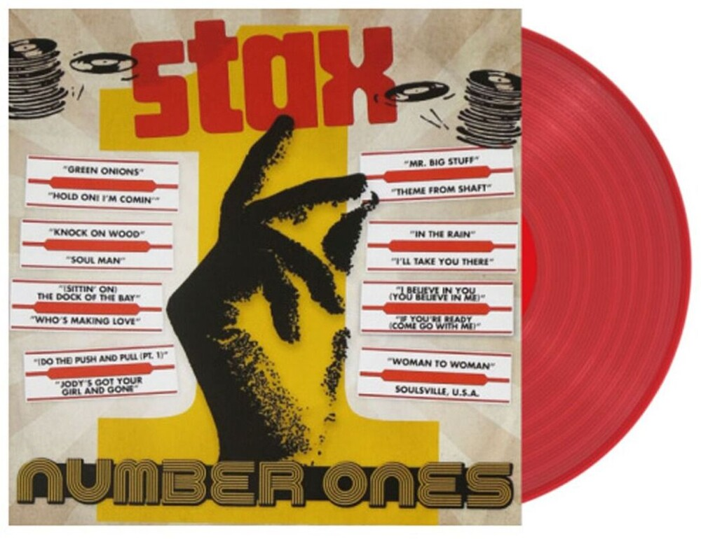 Stax Number Ones / Various - Stax Number Ones / Various (Ltd) (Red)