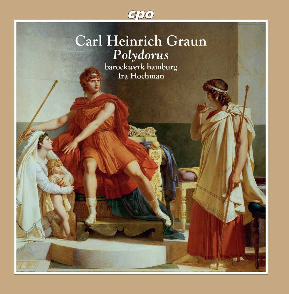 Graun / Barockwerk Hamburg / Hochman - Polydorus (2pk)