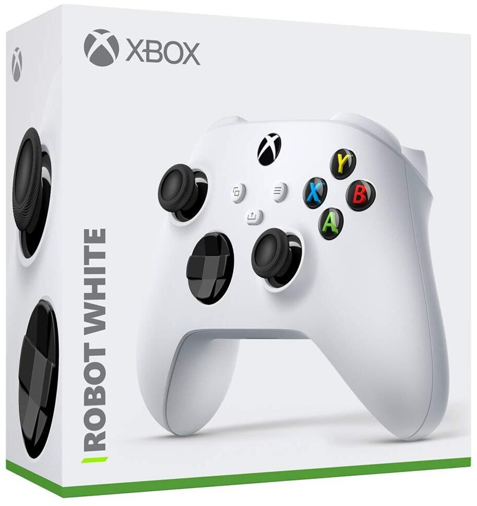 Xb1 Wireless Controller: Robot White - Wireless Controller - White for Xbox One