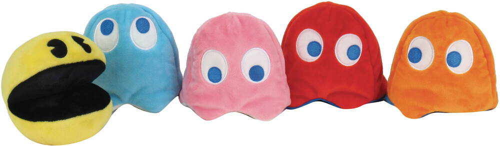 - NECA - Pac-Man Assorted Small Plush 12pc DS