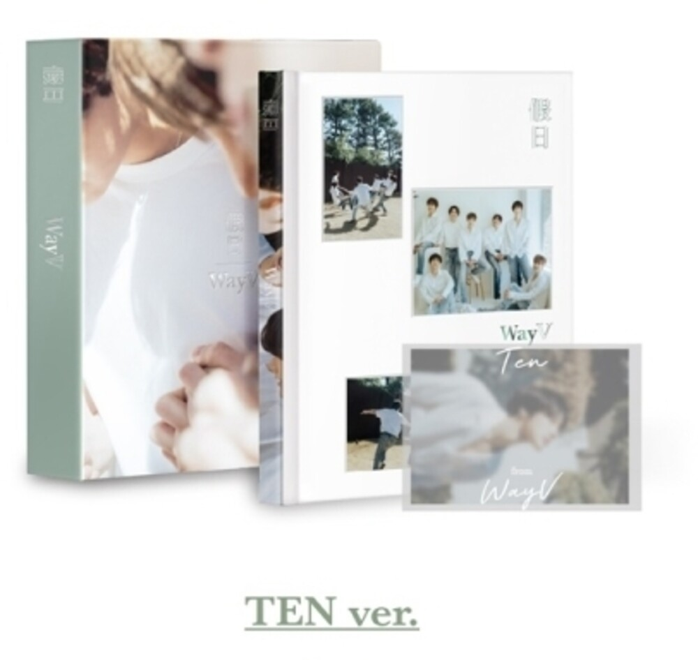 Wayv - Photobook (Ten Version) (136pg Photobook, incl. 10pc Postcard Book, 9pc Poster Set, Sticker Set, Paper Envelope, Letter, Group P
