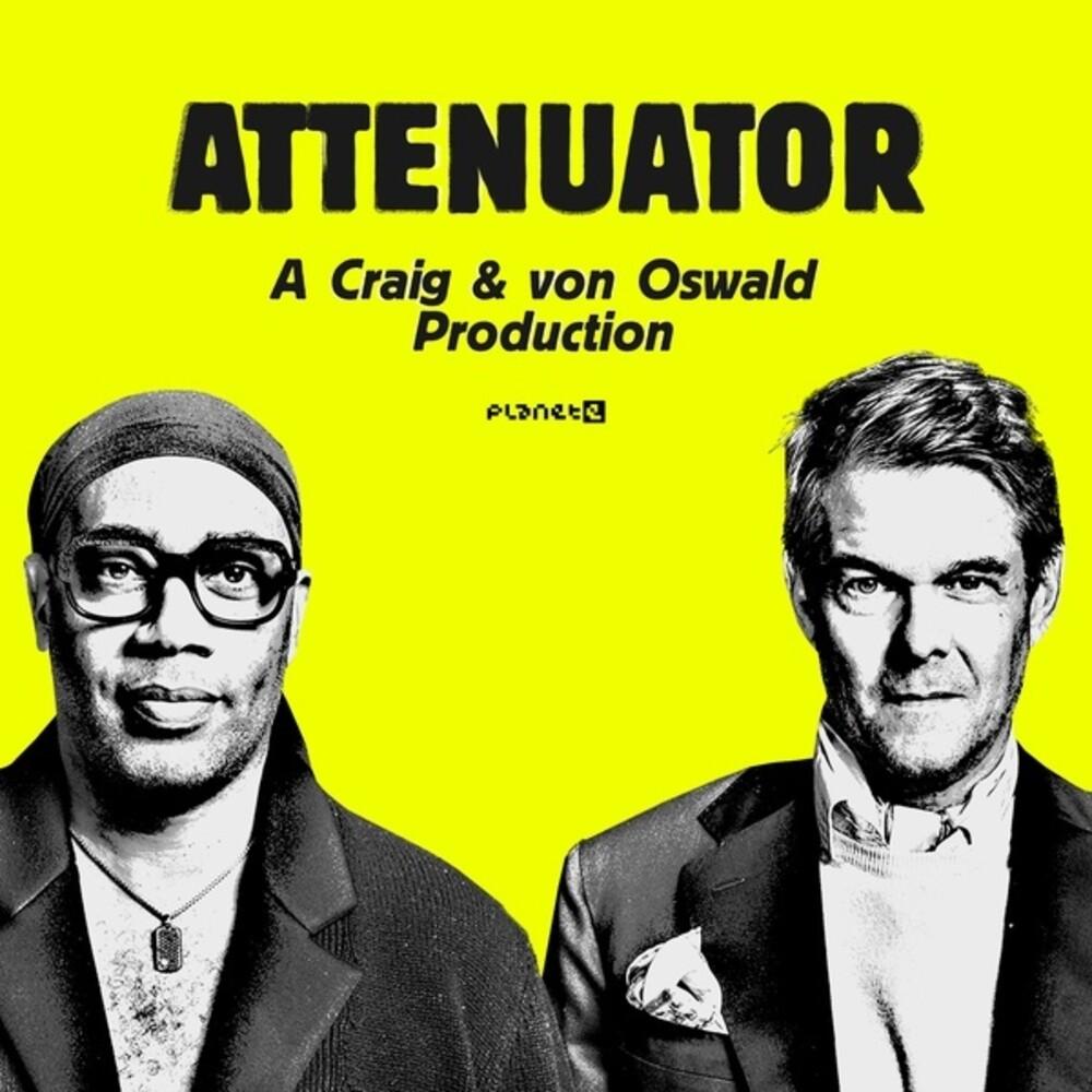 Carl Craig & Oswald,Moritz Von - Attenuator