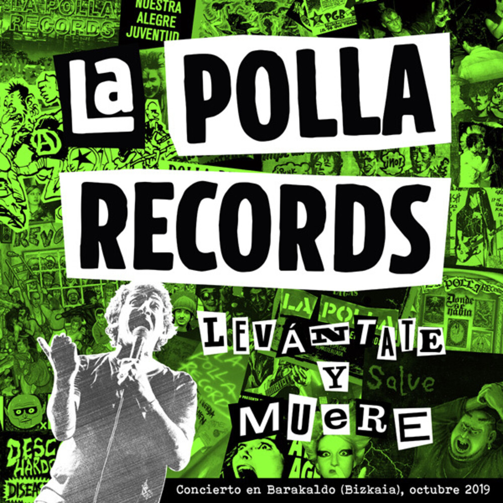 La Polla Records - Levantate Y Muere (2LP+DVD)