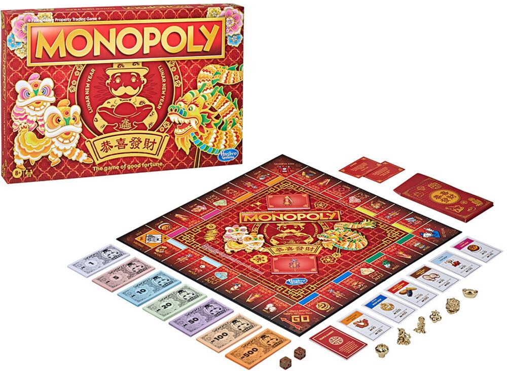 Monopoly Chinese New Year - Hasbro Gaming - Monopoly Chinese New Year