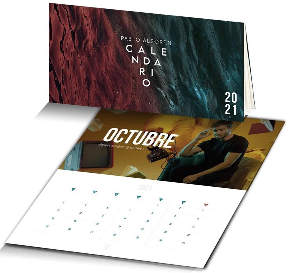 Alboran, Pablo - Vertigo 2021 Calendar