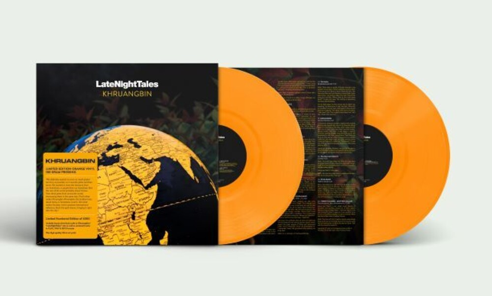 Khruangbin - Late Night Tales: Khruangbin [Indie Exclusive Limited Edition Orange 2LP]