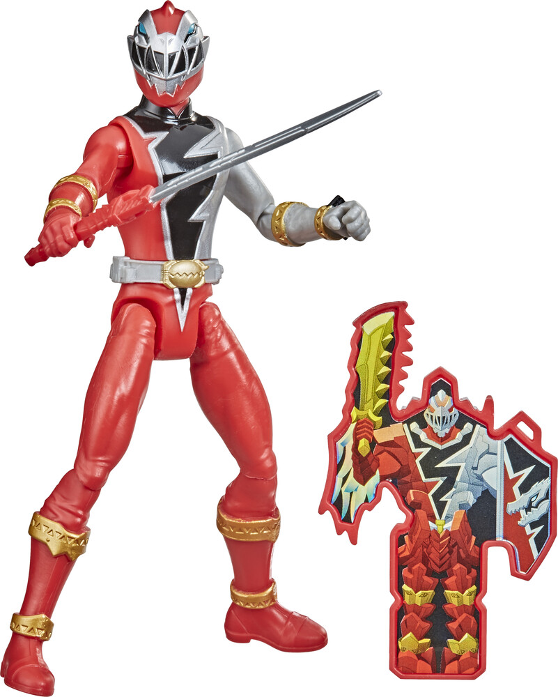 Prg 6in Drm Jupiter - Hasbro Collectibles - Power Rangers 6 Inch Dino Fury Red Ranger