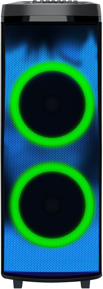 Super Sonic Iq-7012Djbt Bt 2X12in Speaker 90W Blk - Super Sonic Iq-7012djbt Bt 2x12in Speaker 90w Blk