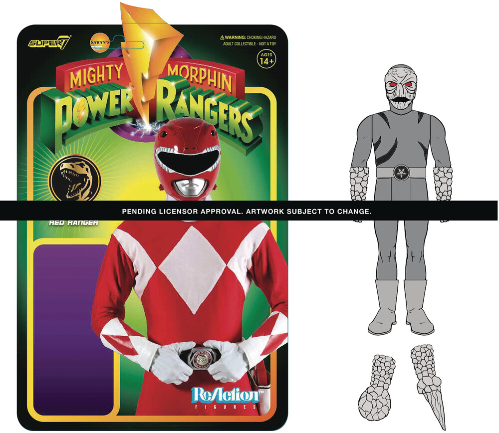 - Super7 - Mighty Morphin' Power Rangers ReAction Figure Wave 1 - Putty Patroller
