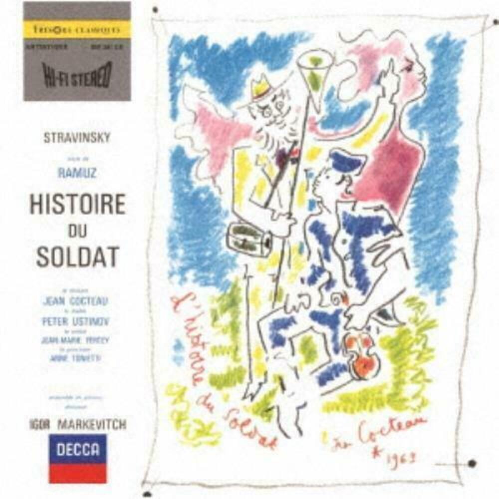 Stravinsky / Igor Markevitch - Stravinsky: L'histoire Du Soldat [Reissue] (Shm)