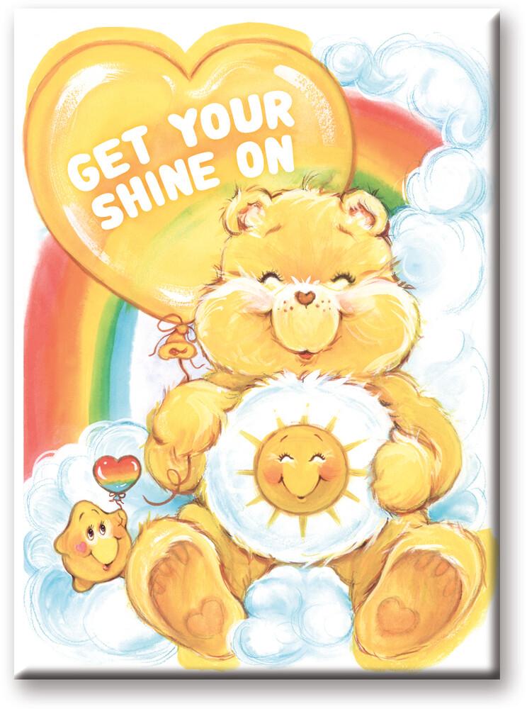 Care Bears Funshine 2.5 X 3.5 Flat Magnet - Care Bears Funshine 2.5 x 3.5 Flat Magnet