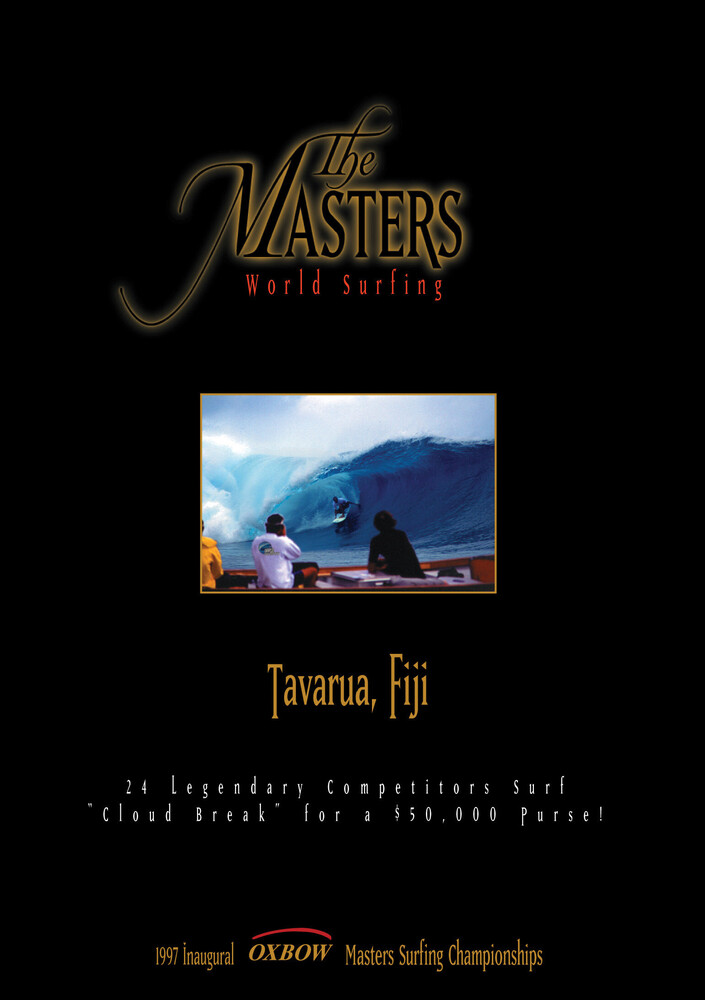 - Masters: World Surfing Tavarua Fiji